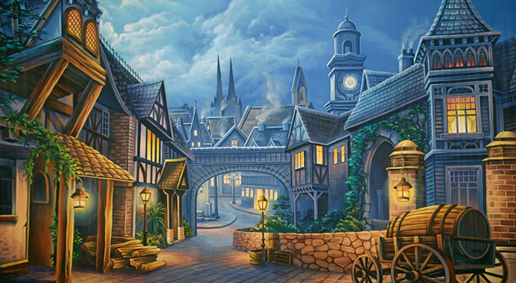 victorian town